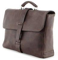 Стильная мужская сумка-портфель из натуральной кожи SHVIGEL 00755