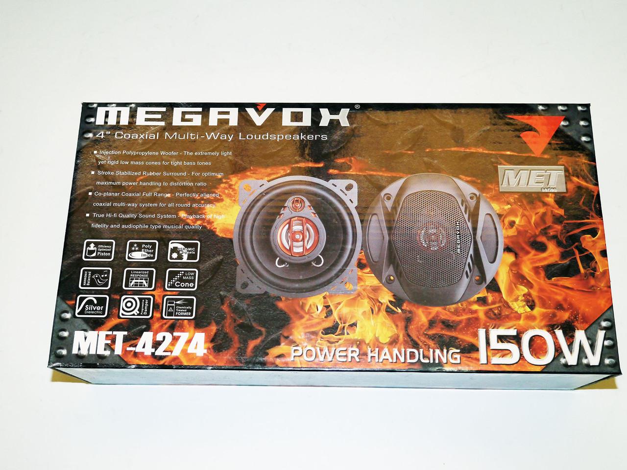 MEGAVOX MET-4274 (150Вт) 2х полосні