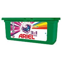 Капсулы для стирки Ariel color 3в1 28 шт