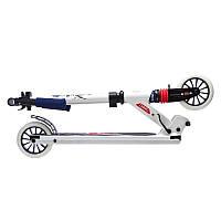 Детский 2-х колесный самокат складной для детей OXELO MID3 (белый UK)