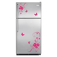 Наклейки на холодильник – аппликация 1001518