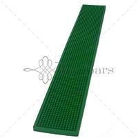 Барный коврик 70х10 см, цвет зеленый The Bars B008G