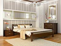 Деревянная кровать АФИНА, материал бук, 8 цветов (ТМ Эстелла)