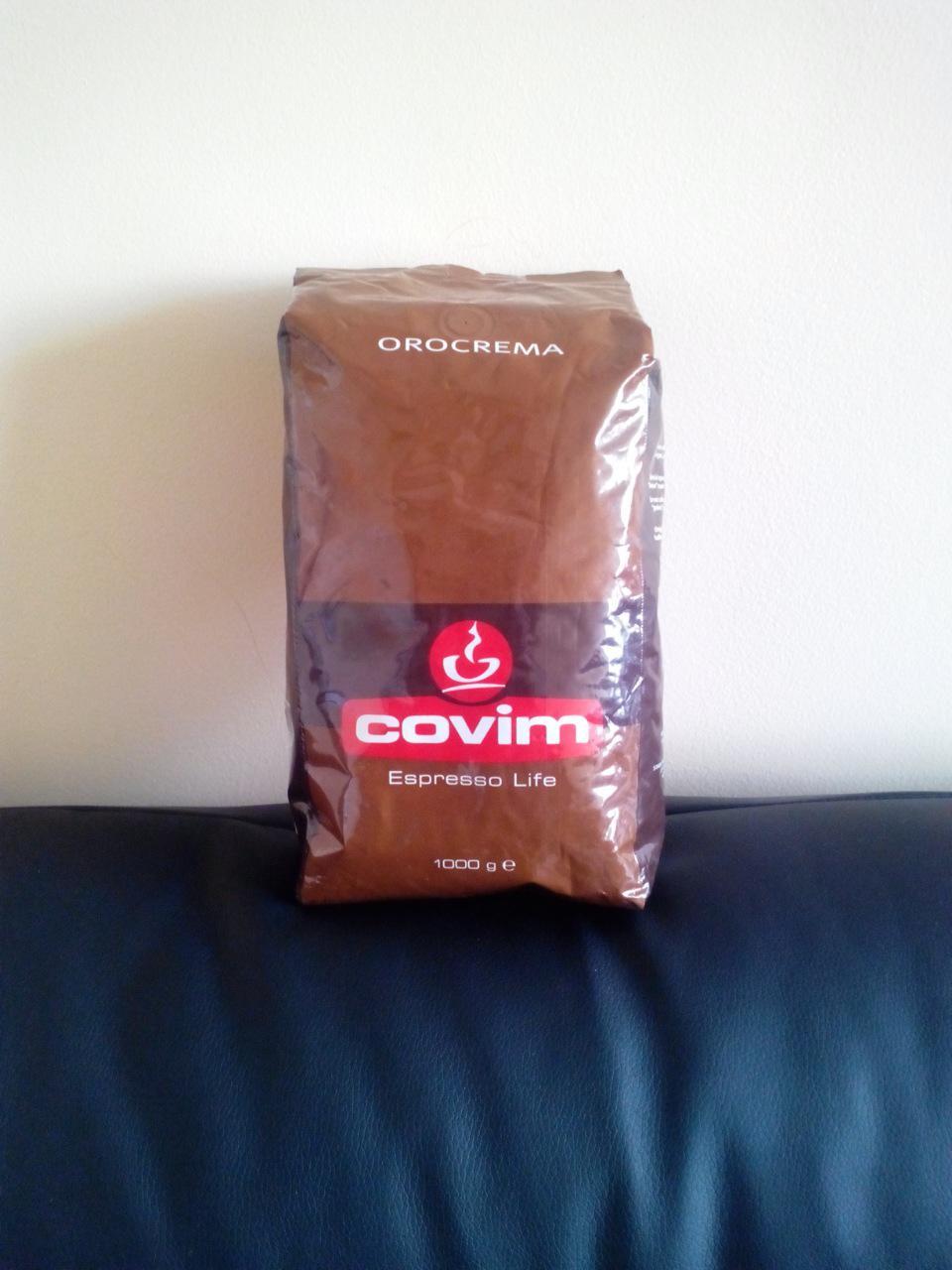 Кофе Covim Orocrema (кофе Ковим Орокрема) в зернах 1 кг, фото 1