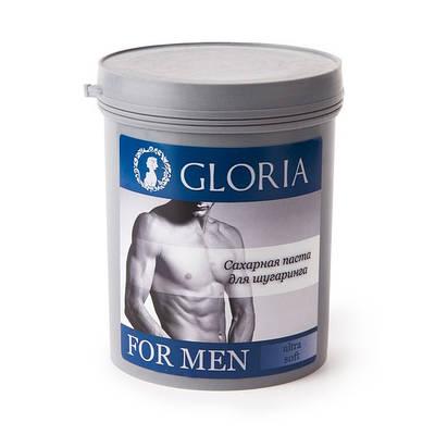 "Сахарная паста для шугаринга ""GLORIA FOR MEN"" Ultra Soft"