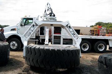 Правильная технология ремонта крупногабаритных шин