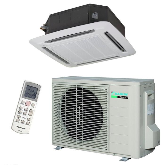 Кассетный кондиционер Daikin ACQ 140/AZQS 140 Inverter 3Ф