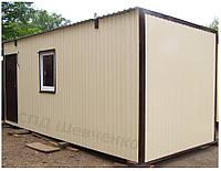 Модульные домики для проживания 6х2,4 м