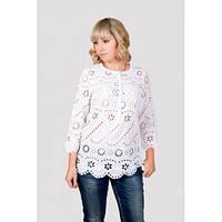 Нарядная и нежная блуза больших размеров
