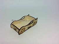 Кукольная мебель Кроватка машина для кукол (под роспись, декупаж), фото 1