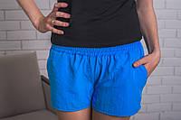 Шорты женские летние голубые