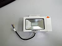 LED прожектор VIDEX Slim Sensor 10W 5000K 220V White (Прожектор с датчиком движения)