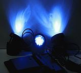 Підводний світильник на сонячній батареї АМФІБІЯ ТРІО Синій, фото 6