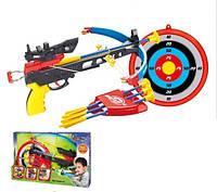 Арбалет со стрелами и мишенью 35881К