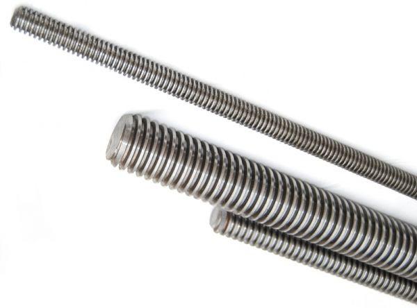 Шпильки резьбовые из нержавеющих сталей А2 DIN 975   Фотографии принадлежат предприятию Крепсила