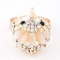 Безразмерное кольцо в золоте