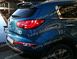Спойлер на Киа Спортейдж 3 (спойлер задней двери Kia Sportage 3), фото 6