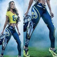 Женские лосины Американский футбол