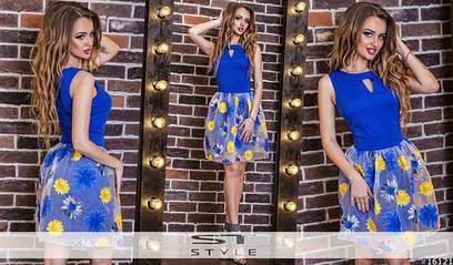 Женское летнее платье №72-172
