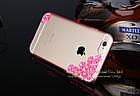 Чехол накладка для iPhone 5/5S Sakura Flowers Crystal Rhinestone Bling Pink , Винница, фото 2