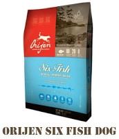 ORIJEN 6 FISH Dog, сухой корм для взрослых собак всех пород, 11,4 кг