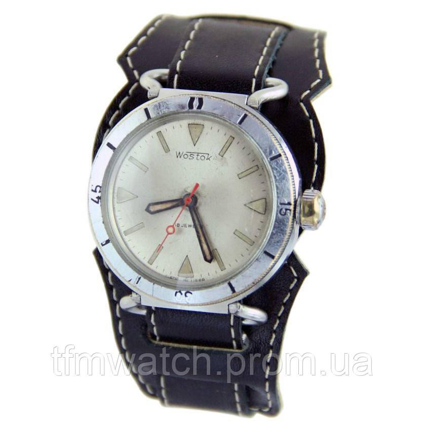 Восток амфибия 2209 18 камней мех-ские часы СССР