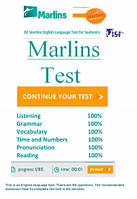Подготовка к Marlins Test Online