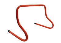 Барьер беговой 40 (пластик, р-р 40x46x30см, оранжевый)