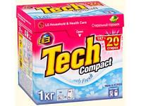 Tech Compact Стиральный порошок 1кг Lovely Fresh