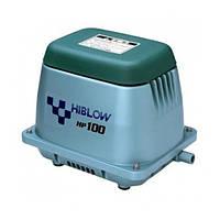 Аэратор HIBLOW HP-100 (Мембранный компрессор для пруда, водоема, септика, УЗВ)