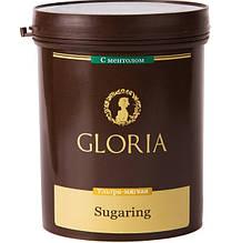 """Шугаринг .Cахарная паста для эпиляции """"Глория"""" ультра мягкая с ментолом 0,33 кг"""