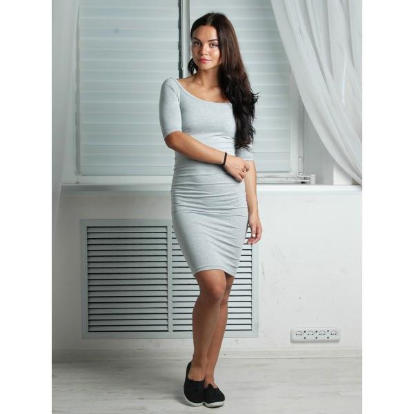b77608501 Платье женское Цунами серое , женская одежда - Интернет-магазин