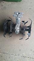 Насадка Культиватор на бензокосу на 9 шлицов 28 труба, фото 1