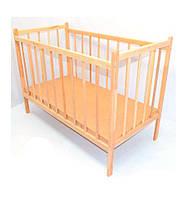 Кроватка детская с гладкой основой