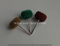 Щетка-крацовка кожаное волокно бордовая