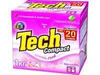 Tech Compact Стиральный порошок 1кг Romantic Floral