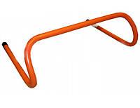 Барьер беговой  YT100 (пластик, р-р 46x15,5x30см, оранжевый)