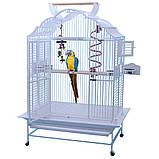 Вольер для попугая KING'S - 4230 Модель Белый, фото 2