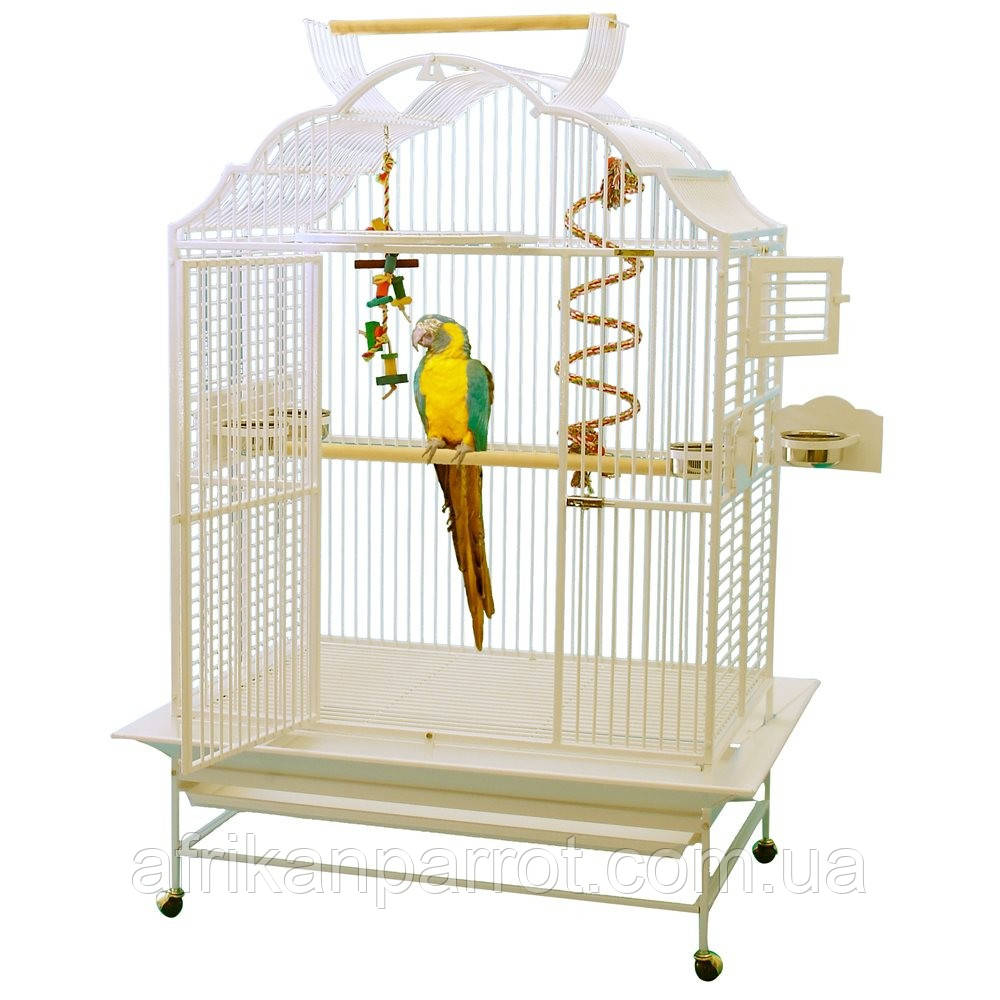 Вольєр для папуги king's - 4230 Модель Білий