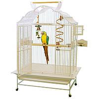 Вольер для попугая KING'S - 4230 Модель Белый