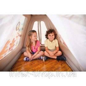 """Детский игровой центр """"Звериный лагерь"""" Intex 48634 127x112х116 см, 3-8 лет, Intex, фото 2"""