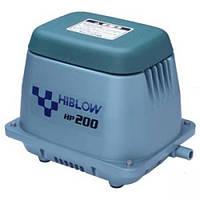 Аэратор HIBLOW HP-200 (Мембранный компрессор для пруда, водоема, септика, УЗВ)