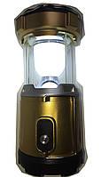 Фонарь туристический OPENMARTS Solar/AC/USB/Battery Rechargeable 6 Led Camping Lantern Flashlight (Coffee), фото 1
