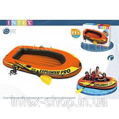 Надувний човен Explorer 300 PRO Set Intex 58358 (244X117X36CM)