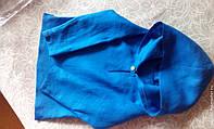 Рубашка льняная десткая подросток с капюшоном и без. Цвета разные
