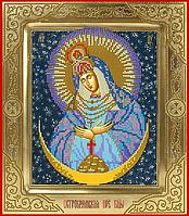 Схема для вышивки бисером POINT ART Остробрамская пресвятая Богородица, размер 26х30 см