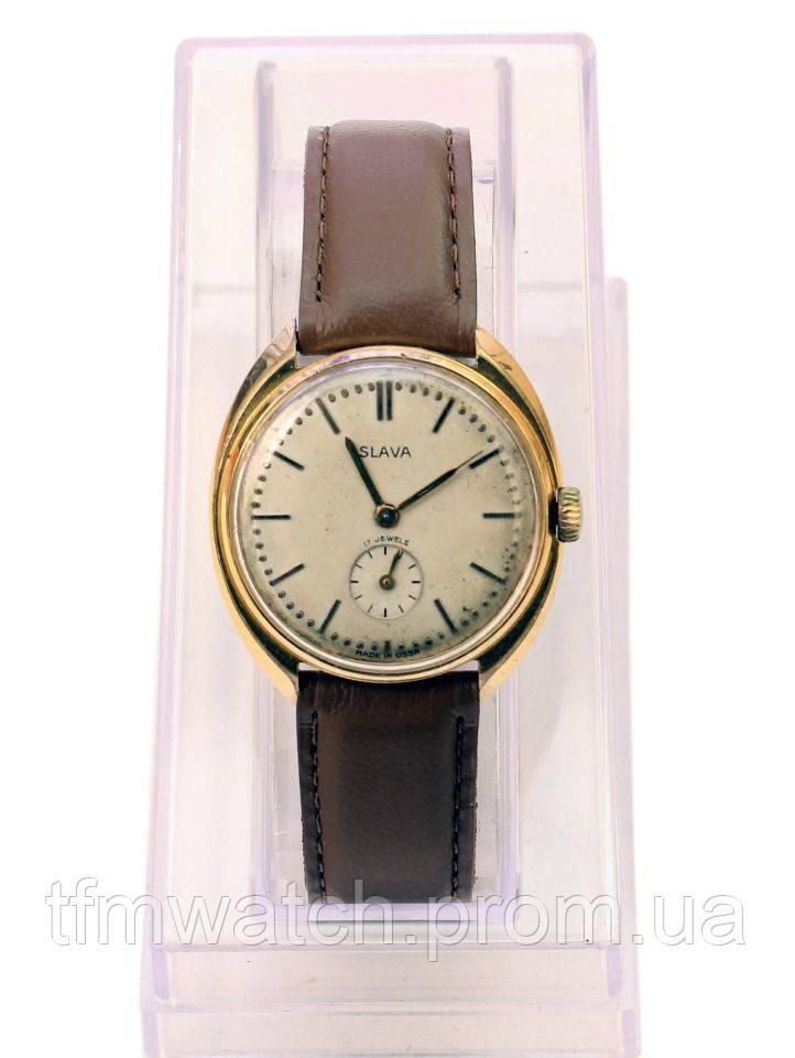 Слава механические часы СССР редкие