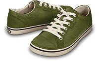 Кеды для детей кроссовки Кроксы кожаные оригинал / Crocs Hover Lace Up Leather Sneaker