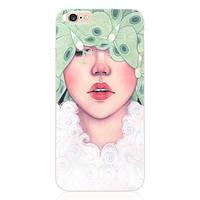 Чехол накладка Ultrathin Soft TPU Silicon Flowers Clustres Case для iPhone 5/5S, Винница