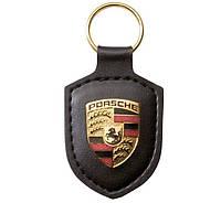 Брелок для ключей с гербом Porsche Crest Keyring Black